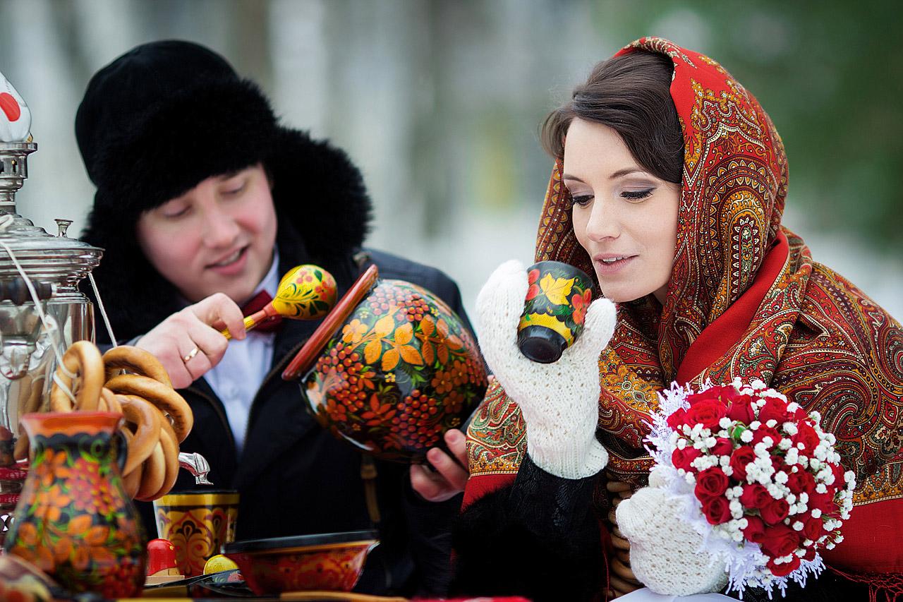 Зимняя свадьба в Конаково