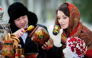 Зимняя свадьба в Русских народных традициях